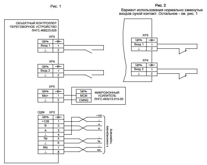 Объектный контроллер - переговорное устройство-02