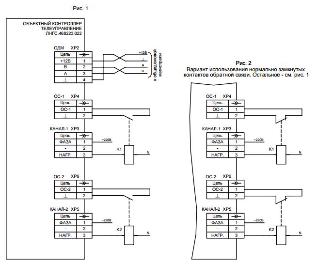 Объектный контроллер - телеуправление-02