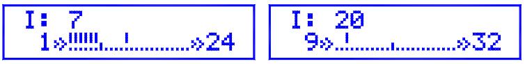Рис. 2 Пример отображения контрольных точек.