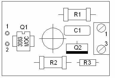 МУВН. Схема расположения элементов ЛНГС.468223.002.100